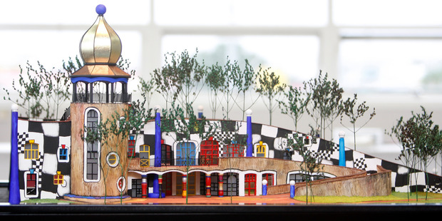 Whangarei's controversial Hundertwasser Arts Centre is expected to get an injection of Government funding today.