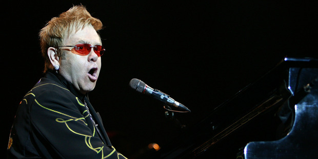 English singer Elton John says Donald Trump using his songs doesn't mean he endorses the campaign.