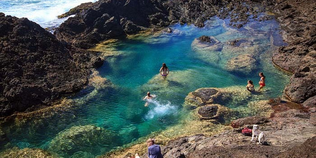 The Mermaid Pools are scenic but potentially dangerous.