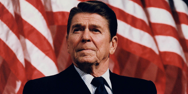 Margaret Thatcher observed Reagan had nothing between his ears.