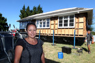 """Hayley Tawhiti was """"over the moon"""" to purchase the $1 Auckland house for their new Hastings subdivision. Photo / Paul Taylor"""