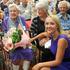 L-R Oldest survivor, Jean Williams 103 years old, Hon Nikki Kaye, Minister of Civil Defence. Photograph: Warren Buckland