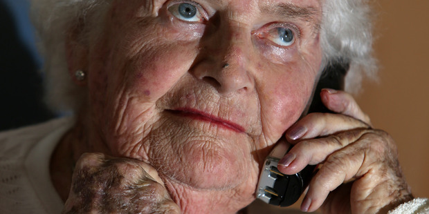 Enid Denton is fed up after spending hours on the phone to Vodafone trying to sort a simple phone connection.