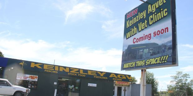 A much bigger Keinzley Agvet store is in the pipeline for Masterton. PHOTO/ANDREW BONALLACK