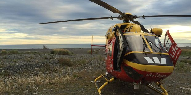 The Life Flight Westpac helicopter assisted. PHOTO/FILE