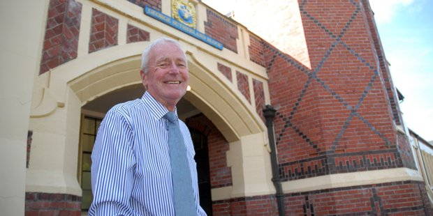 John Carlyon, past principal of Wairarapa College, says it is a privilege to help return Wairarapa College to its former glory and central role in the district. PHOTO/NATHAN CROMBIE
