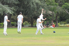 Gordon Reisima attempts a sharp slip catch during Hawke Cup cricket, Wairarapa v Wanganui, at Queen Elizabeth Park in Masterton on Sunday. PHOTO/CHRIS KILFORD