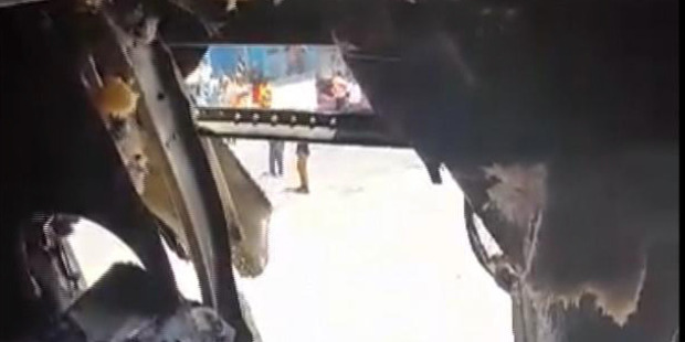 Investigators believe Somali based terror group Al Shabaab was behind the suspected bomb blast. Photo / AP