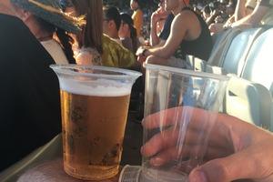 Sideswipe: Two cups, one fan
