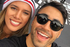 New Zealand sports stars Kayla Cullen and Shaun Johnson. Photo / Instagram