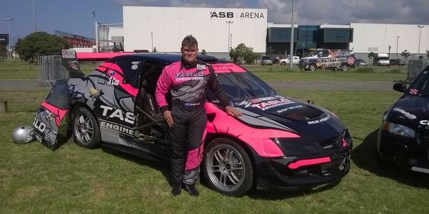 Rotorua rally driver Sloan Cox will be attending the international rallycross event in late February. Photo/John Borren