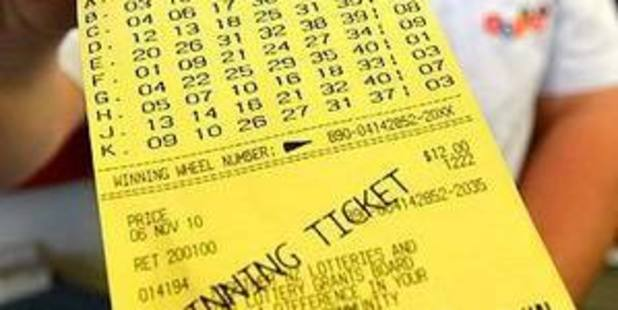 "Winner says he only decided to check his ticket after hearing ""the buzz around town"". File photo"