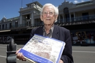 Maurice Aldridge, 90, was born in Hastings and witnessed the 1931 earthquake. Photo / Paul Taylor