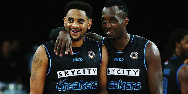 Corey Webster and Cedric Jackson both excelled in the win over Adelaide. Photo / Getty
