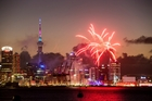 FIREWORKS: An Auckland Anniversary Weekend fireworks display ended early after an unexpected wind shift caused sparks to drift into the crowd. PHOTO/NZME