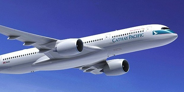 Cathay Pacific's Airbus A350-900.