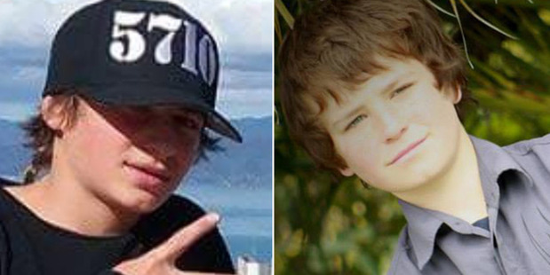 Hoani Korewha (left) and Pacer Willacy-Scott (right), died in Masterton after a short police pursuit. Photo / Facebook