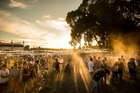 The weather gods were smiling on this year's Festival One at Mystery Creek. Photo / Harrison Burt (Blink Ltd)