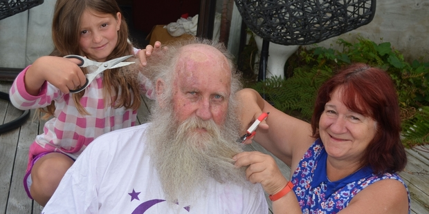 Murray Heal is going to shave off his beard and hair to raise money for Taranaki Relay for Life next month.