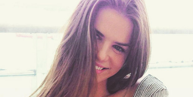 Kim Dotcom posted this picture of his new girlfriend, Elizabeth Donnelly, on social media. Photo / Instagram