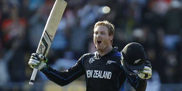 Martin Guptill averages 21.78 against Australia. Photo / Mark Mitchell