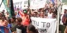 Watch: Waitangi hikoi calls for TPP axing