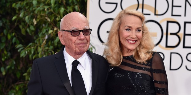 Rupert Murdoch is said to have banned his wife to be Jerry Hall from playing Mrs Robinson in The Graduate. Photo / Getty