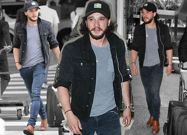 Kit Harington at LAX in June last year. Photos / Getty Images