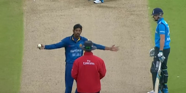 Sachithra Senanayake ran out England's Jos Buttler in 2014 with a Mankad.
