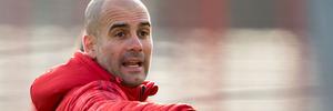 Bayern Munich head coach Pep Guardiola is manage Manchester City next season. Photo / AP