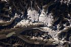 Stunning shots of NZ from space