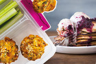Recipes for lunchbox muffins, pancakes and ice blocks are all in this week's Bite magazine and over on bite.co.nz. Photos / Bite magazine