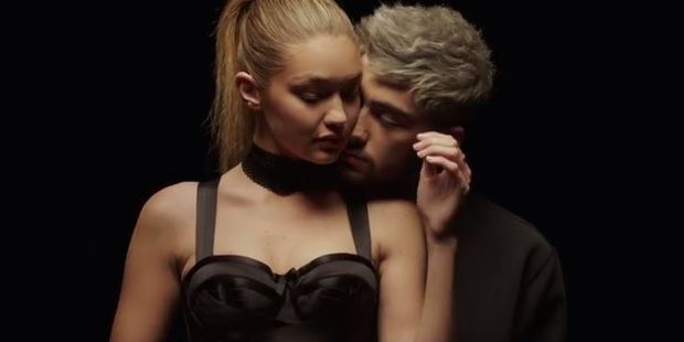 Model Gigi Hadid stars in boyfriend Zayn Malik's steamy new video.