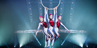 Aerial acts are feats of strength, balance and beauty in Quidam. Photo / Supplied