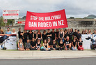 Rodeo activists protest in Warkworth