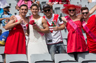 Fans out in force at Auckland Nines