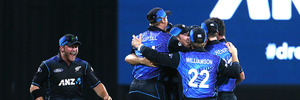 You beauty! Black Caps romp to victory