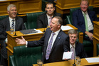 Prime Minister John Key during his statement to the House in Parliament. Photo / Mark Mitchell
