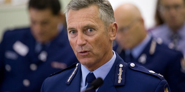 Commissioner of Police Mike Bush appeared before Parliament's Law and Order Committee and revealed the figure. Photo / Mark Mitchell