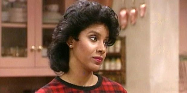 Actress Phylicia Rashad in The Cosby Show.
