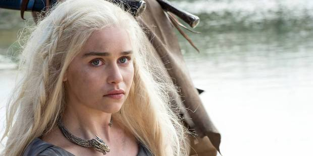 Emilia Clarke as Daenerys Targaryen. Photo / HBO