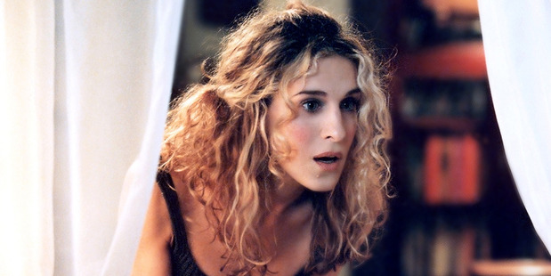 Actress Sarah Jessica Parker in Sex and the City.