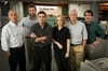 XXX: The cast of Spotlight, a film which focuses on the investigative journalists who exposed the Catholic church's systematic cover-up of many incidents of abuse by priests in Boston. PHOTO/AP