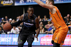 Cedric Jackson had a double-double to lead the Breakers to victory against Cairns. Photo / photosport.nz