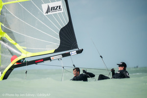 2016 Nacra 17, 49er and 49erFX World Championships in Clearwater, Florida - Racing Day 1