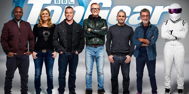 The new host line-up for Top Gear.