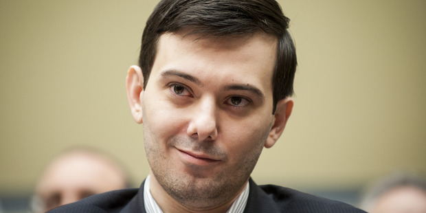 Martin Shkreli is willing to pay $10 million for Kayne West's latest album. Photo / Bloomberg