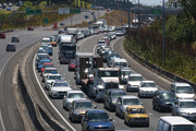 Traffic is expected to be heavy as holidaymakers begin their journeys home. Photo / Daniel Hines