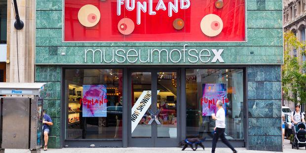 New York's Museum of Sex. Photo / 123RF