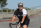 ON THE ROAD: Debbie Cain enjoys the camaraderie and achievement of cycling.PHOTO/ BEVAN CONLEY